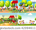 playground, children, vector 42094611