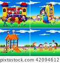 play, children, set 42094612