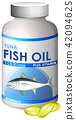Capsule of Tuna Fish Oil 42094625