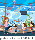 A School Trip To Aquarium 42094683