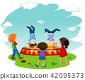 Children Breakdancing on Stage 42095373
