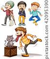 Set of sick boys 42095390