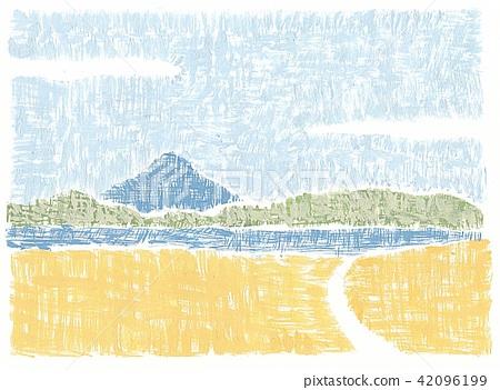 Kamiakudake and Ikeda lake 42096199