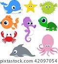 矢量 矢量图 章鱼 42097054