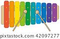 vector, vectors, xylophone 42097277