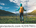 hiker hiking nature 42097601