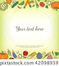 vegetables, fruits, fruit 42098939