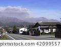Mt. Aso volcano 42099557