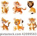 Wild animal cartoon 42099563