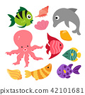 marine life vector collection design 42101681