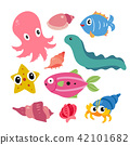 marine life vector collection design 42101682
