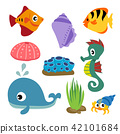 marine life vector collection design 42101684