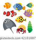 marine life vector collection design 42101687