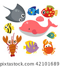 marine life vector collection design 42101689