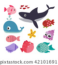 marine life vector collection design 42101691
