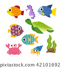 marine life vector collection design 42101692