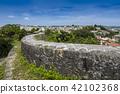 Shuri castle wall 42102368