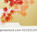 ญี่ปุ่น - พื้นหลัง - ฤดูใบไม้ร่วง - ใบไม้เปลี่ยนสี - ทอง 42102530