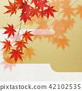 ญี่ปุ่น - พื้นหลัง - ฤดูใบไม้ร่วง - ใบไม้เปลี่ยนสี - ทอง 42102535