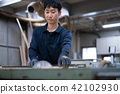 공장 장인 목수 작업자 목공 42102930