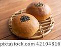 红豆饼 面包 食物 42104816