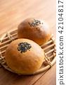 红豆饼 面包 食物 42104817