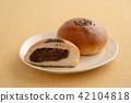 红豆饼 面包 食物 42104818