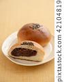 红豆饼 面包 食物 42104819