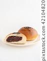红豆饼 面包 食物 42104820