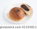 红豆饼 面包 食物 42104821