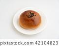 红豆饼 面包 食物 42104823