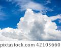 푸른 하늘, 파란 하늘, 적란운 42105660