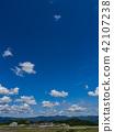 天空 藍天 晴朗 42107238