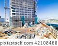 公寓/建築的大型建築工地 42108468