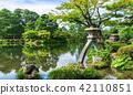 kanazawa, kenrokuen, kotoji lantern 42110851