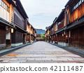 kanazawa, east chayamachi, teahouse street 42111487