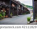 hidatakayama, old townscape, kamisanno town 42111829