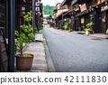 hidatakayama, old townscape, kamisanno town 42111830