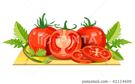 Fresh tomatoes from the farm. 42114600