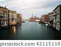 Venice Italy and Basilica Santa Maria della Salute 42115110