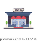 store front of fashion woman boutique jewelry 42117236