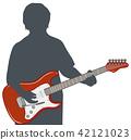 electric guitar, guitar, guitars 42121023