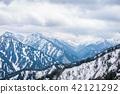 outside for landscape snow wlall from Murodo  42121292