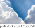 푸른 하늘, 파란 하늘, 여름 42122750