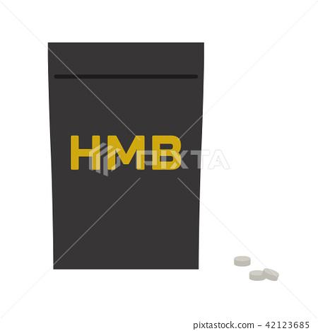 HMB supplement (bag + contents) 42123685