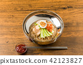 冷面 韩国菜 面条 42123827