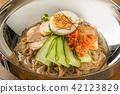 冷面 韩国菜 面条 42123829
