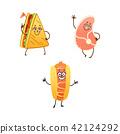 vector, sandwich, food 42124292