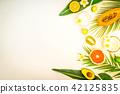 Summer diet, fresh fruits 42125835