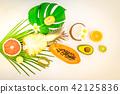 Summer diet, fresh fruits 42125836